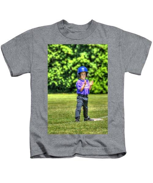 Runner On Third 1815 Kids T-Shirt