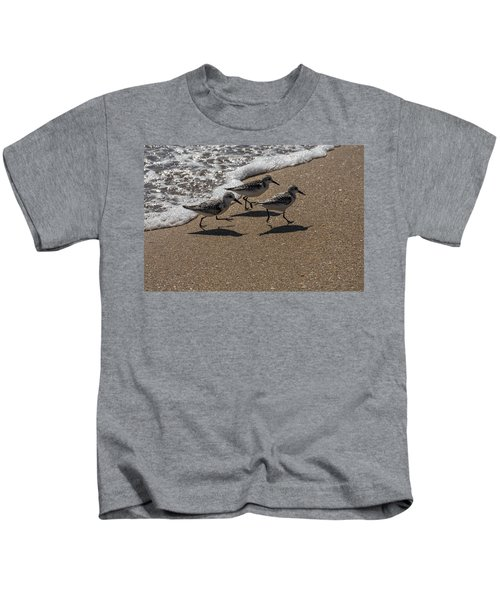 Running From The Water Kids T-Shirt