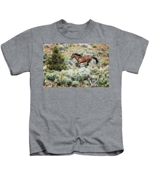 Running Through Sage Kids T-Shirt