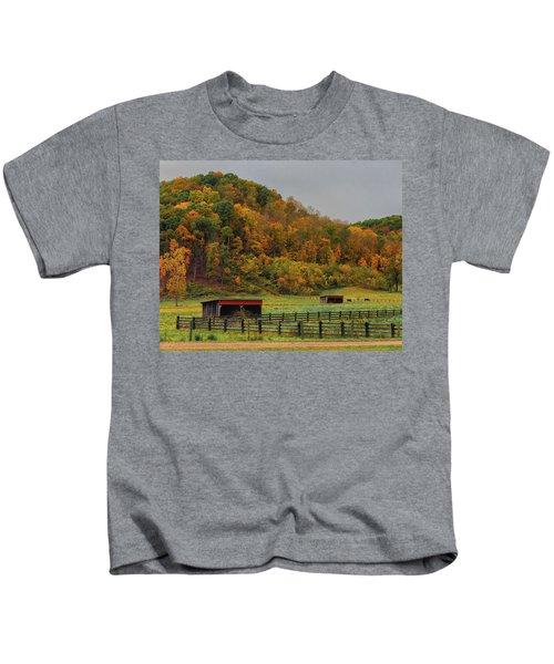 Rural Beauty In Ohio  Kids T-Shirt