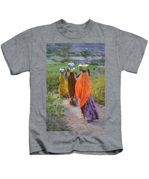 rural Rajasthan Kids T-Shirt