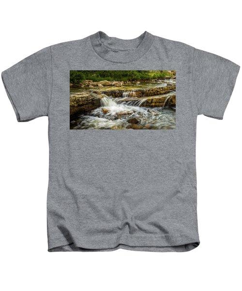 Rushing Waters - Upper Provo River Kids T-Shirt