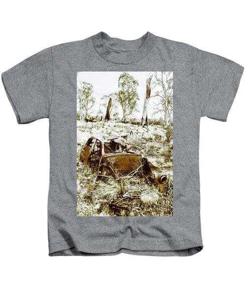 Rustic Rural Decay Kids T-Shirt