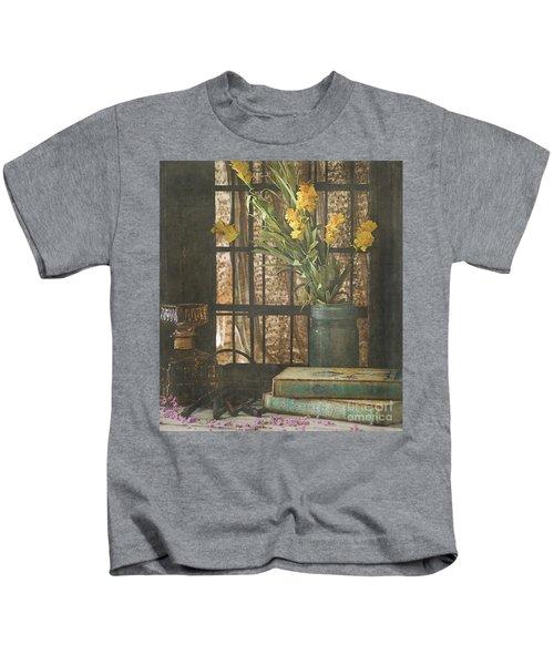 Rustic Still Life 1 Kids T-Shirt