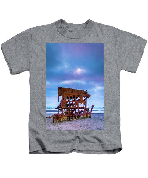 Rusting Peter Iredale Kids T-Shirt