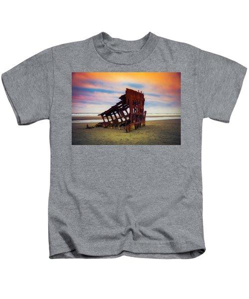 Rusting Shipwreck Kids T-Shirt