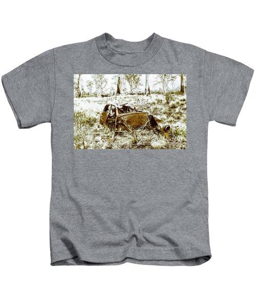 Rusty Old Holden Car Wreck  Kids T-Shirt