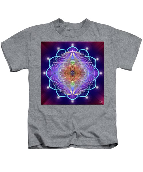Sacred Geometry 641 Kids T-Shirt