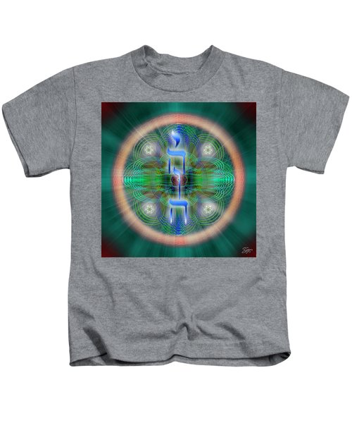 Sacred Geometry 648 Kids T-Shirt