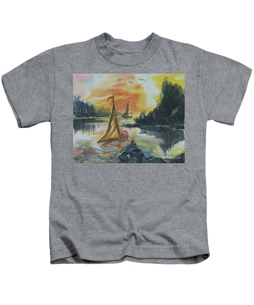 Sail Away Kids T-Shirt