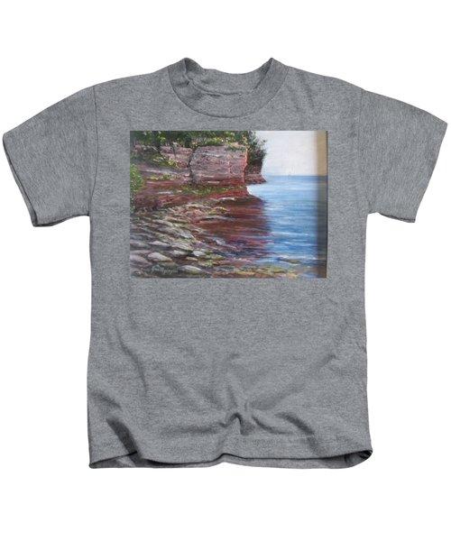 Sail Into The Light Kids T-Shirt