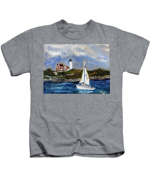 Sailing To Martha's Vineyard Kids T-Shirt