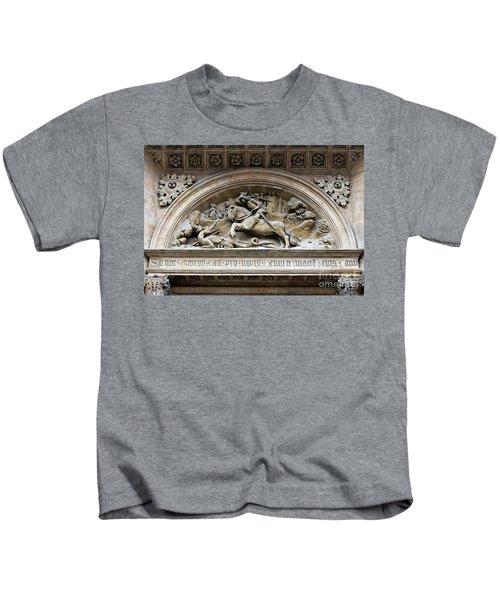 Saint George And Dragon Kids T-Shirt