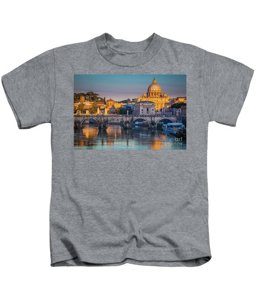 Saint Peters Basilica Kids T-Shirt