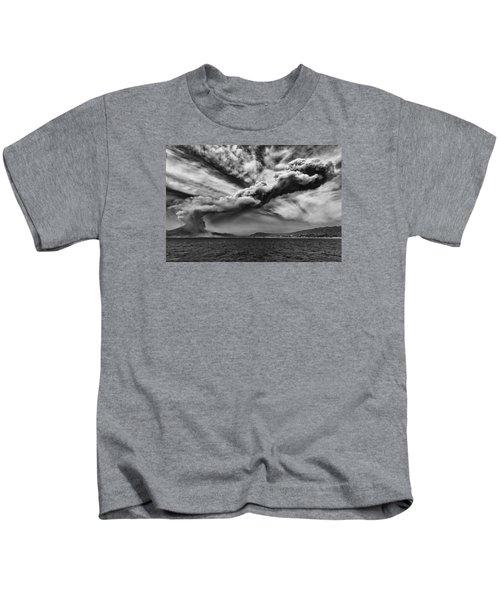 Sakurajima Volcano Kids T-Shirt