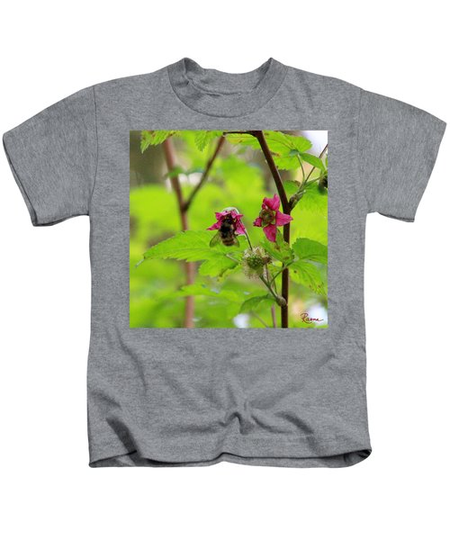 Salmonberry Honey Kids T-Shirt