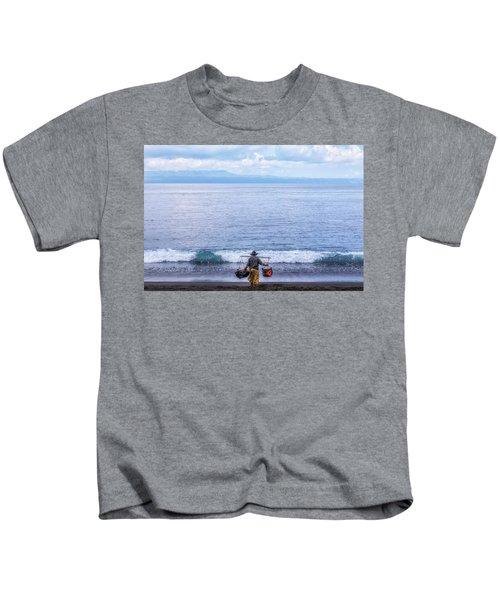 Salt Making - Bali Kids T-Shirt