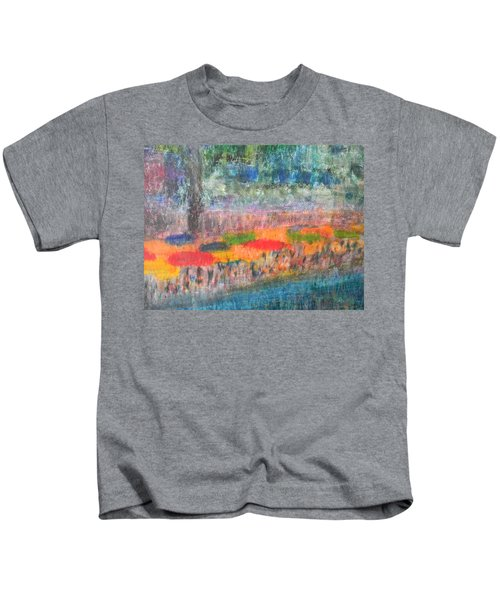 San Antonio By The River II Kids T-Shirt