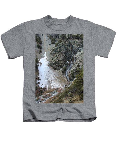 San Antonio Waterfalls Kids T-Shirt