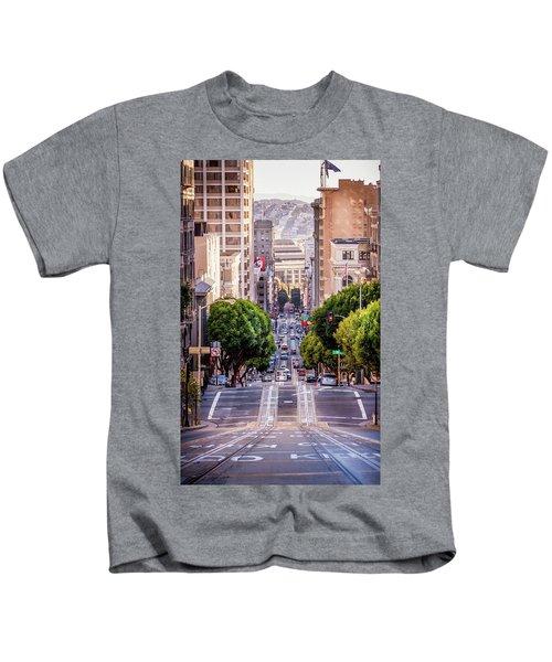 San Fran Cable Car Kids T-Shirt