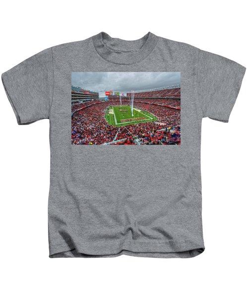 San Francisco 49ers Levi's Stadium Kids T-Shirt