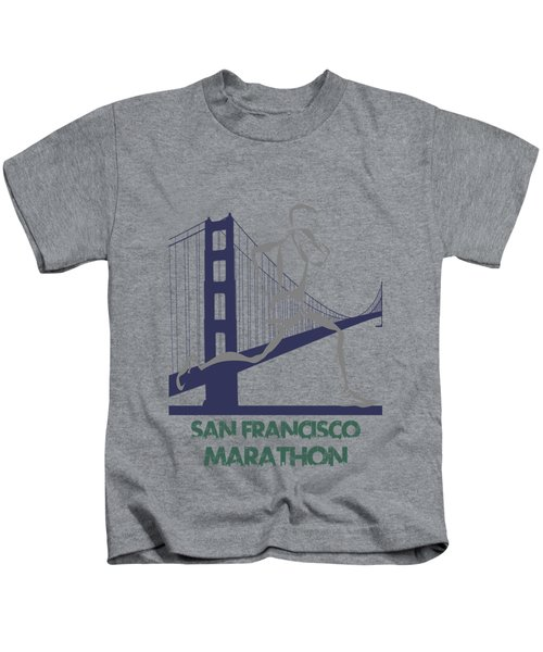 San Francisco Marathon2 Kids T-Shirt