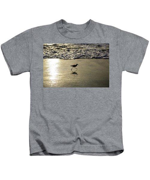 Sand Piper Dash Kids T-Shirt