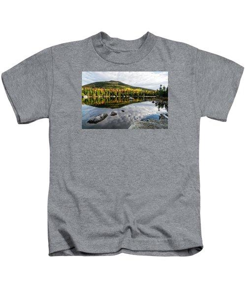 Reflection Sandy Stream Pond Me. Kids T-Shirt