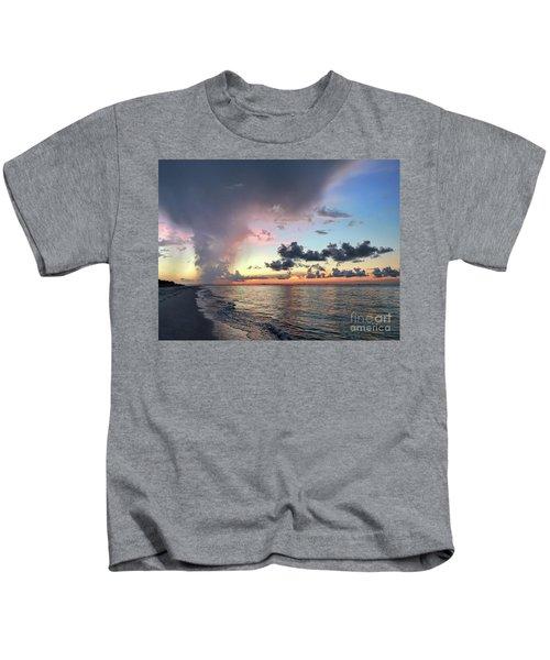 Sanibel Island Sunrise Kids T-Shirt
