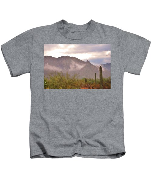 Santa Catalina Mountains II Kids T-Shirt