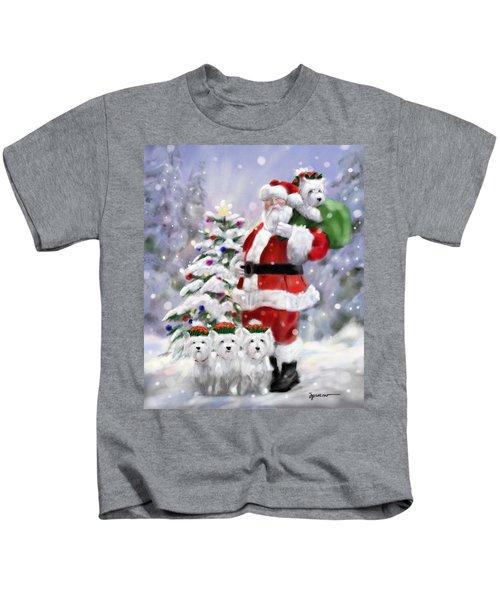 Santa's Helpers Kids T-Shirt