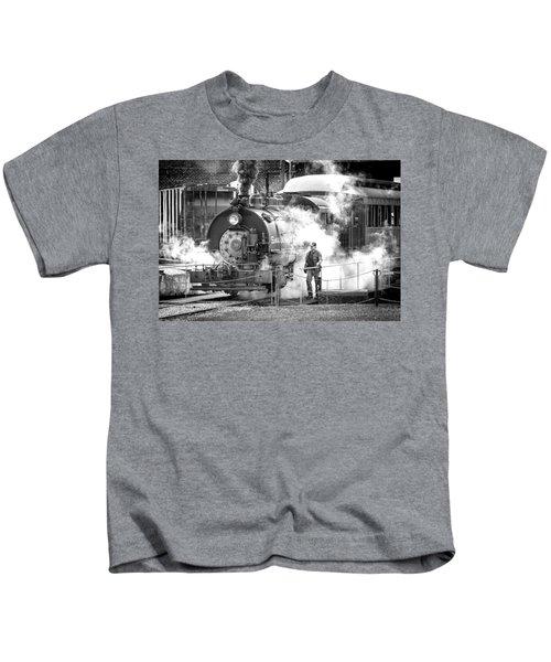 Savannah Central Steam Locomotive Kids T-Shirt