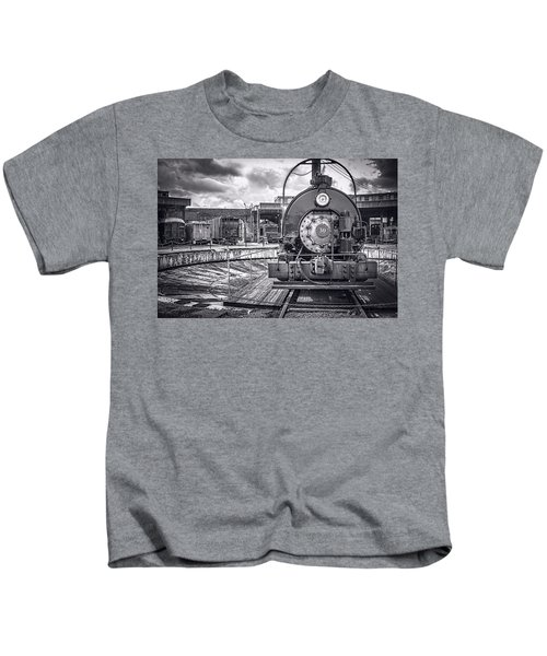 Savannah Central Train Yard Kids T-Shirt