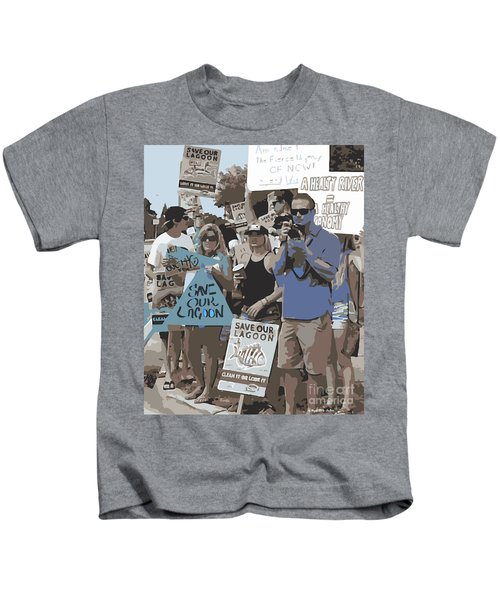 Save Our Lagoon Kids T-Shirt