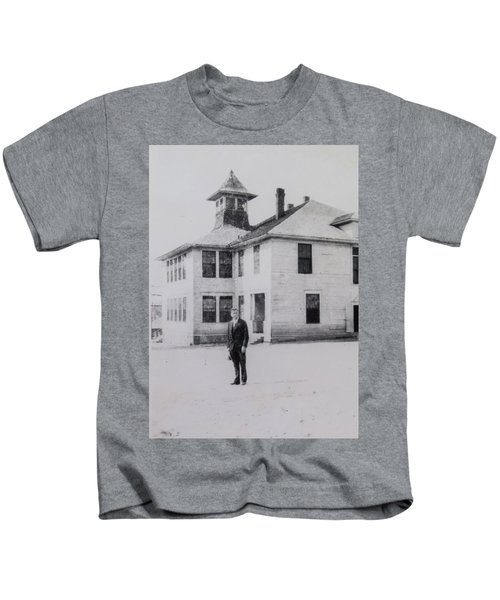 School 1901 Back Kids T-Shirt