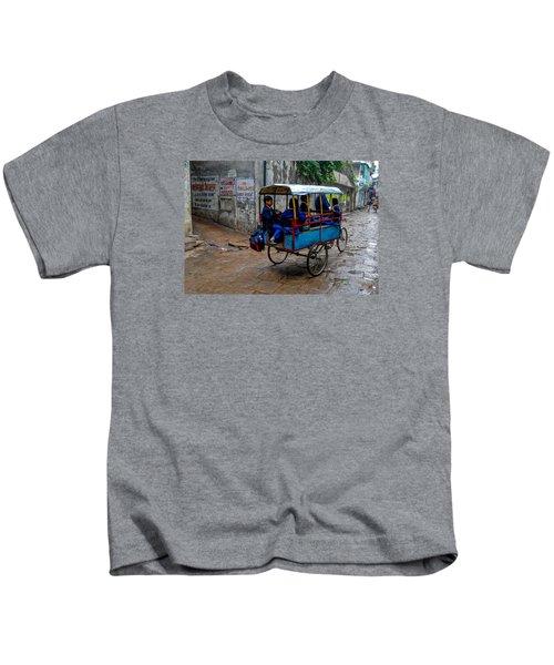 School Cart Kids T-Shirt