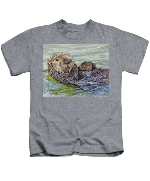 Sea Otter Kids T-Shirt