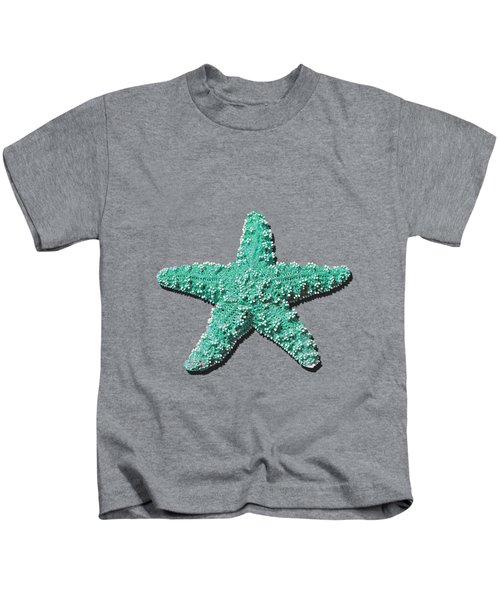 Sea Star Aqua .png Kids T-Shirt