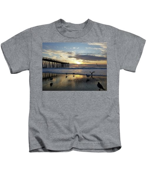 Seagulls And Salty Air Kids T-Shirt