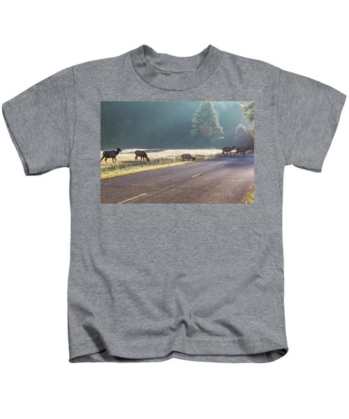 Searching For Greener Grass Kids T-Shirt