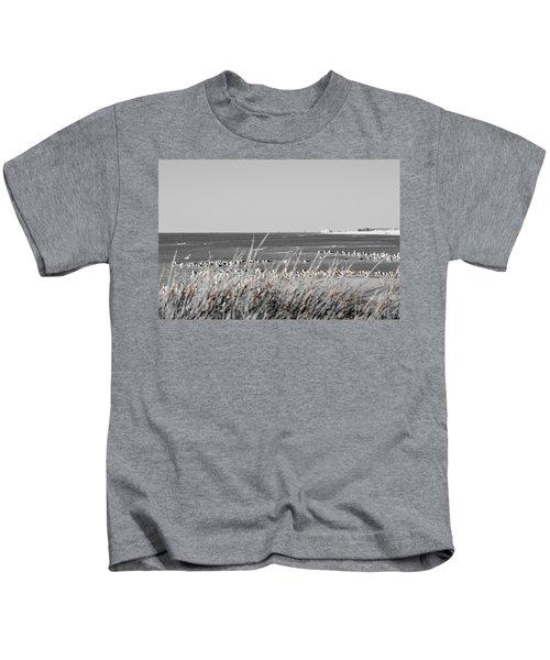 Seascape Gulf Coast, Ms F10x Kids T-Shirt