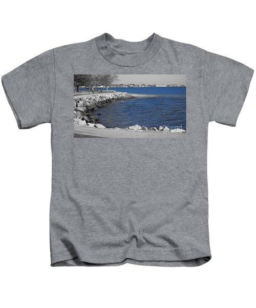 Seaside Blue Kids T-Shirt