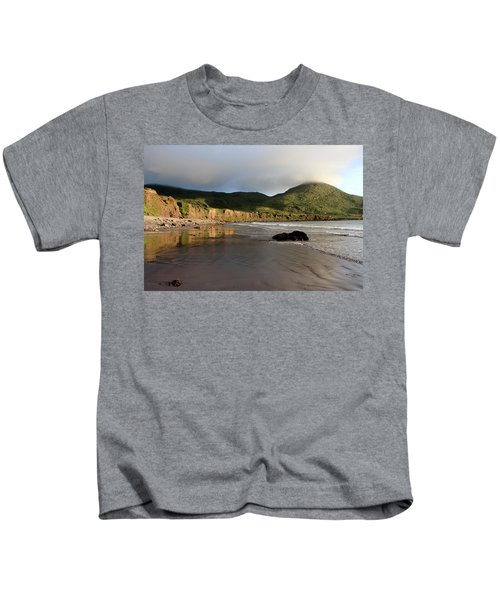 Seaside Reflections, County Kerry, Ireland Kids T-Shirt