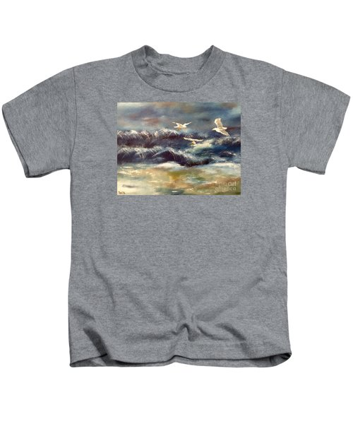 Seaside Serenade Kids T-Shirt