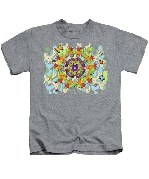 Seasonal Cycle Kids T-Shirt