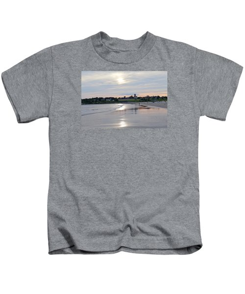 Second Beach Newport Ri Kids T-Shirt