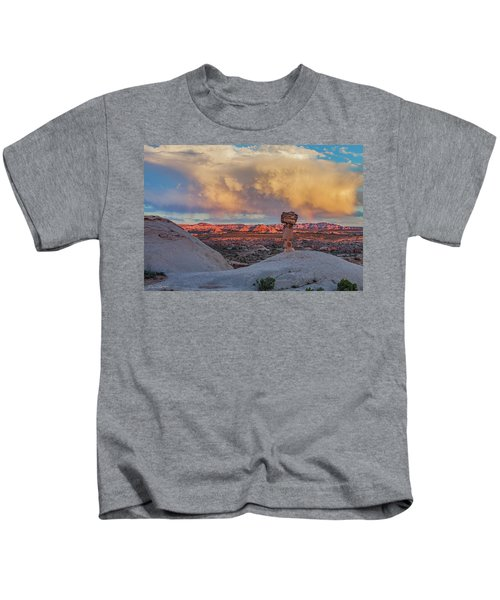 Secret Spire Sunset 2 Kids T-Shirt
