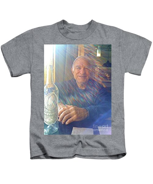 Self Portrait One - Light Through The Window Kids T-Shirt