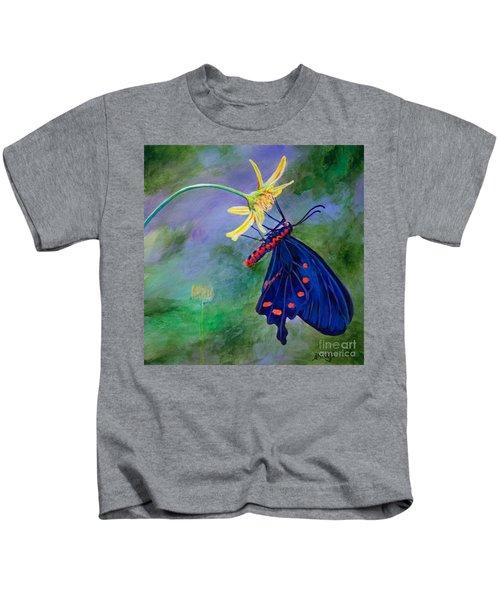 Semperi Swallowtail Butterfly Kids T-Shirt
