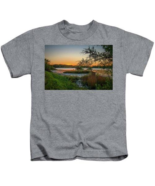 Serene Sunset Kids T-Shirt